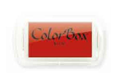Color Box Mini Rood stempelkussen 17314