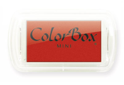 Stempelkussen ColorBox Mini Rood