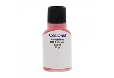 Stempelinkt metallic rood 50 ml, Coloris 4000 P