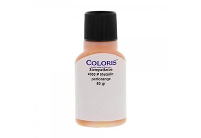 Stempelinkt metallic oranje 50 ml, Coloris 4000 P