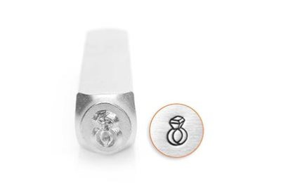 ImpressArt Slagstempel Diamanten ring 6 mm