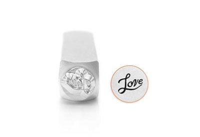 ImpressArt Slagstempel Love  6 mm