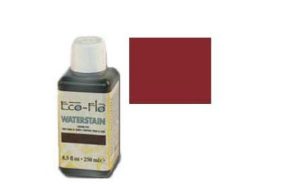 Leerverf Eco-Flo Waterstain 250 ml Rood