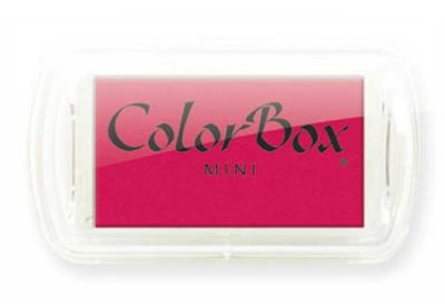 Color Box Mini Magenta stempelkussen 17315