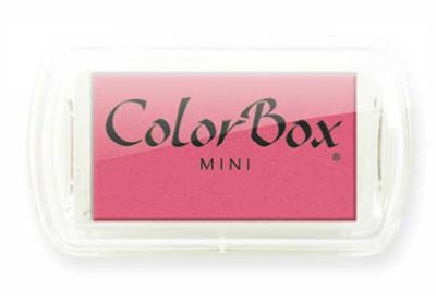Color Box Mini Roze stempelkussen 17333