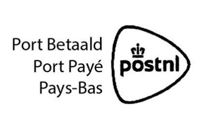 Port betaald stempel Internationaal