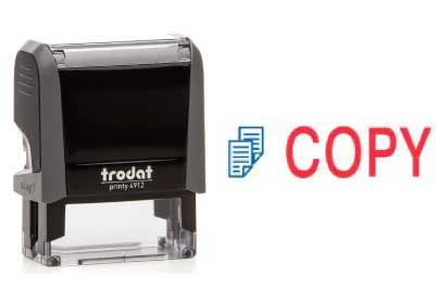 Trodat Stempel Office Printy COPY