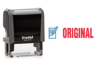 Trodat Stempel Office Printy ORIGINAL