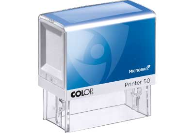 Colop Printer Microban 50 met tekst of ontwerp