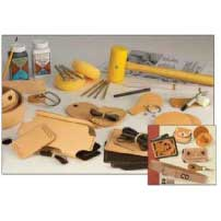 Leerstempel set Tandy Leather
