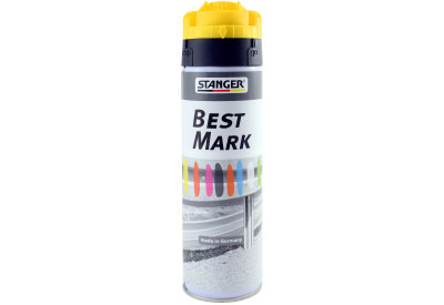 Spuitbus Verfspray Fluor Geel 500 ml | Stanger Best Mark