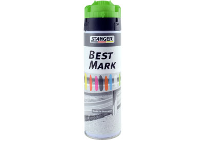 Spuitbus Verfspray Fluor Groen 500 ml | Stanger Best Mark