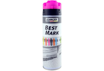 Spuitbus Verfspray Neon Magenta 500 ml | Stanger Best Mark