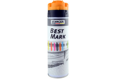 Spuitbus Verfspray Fluor Oranje 500 ml | Stanger Best Mark