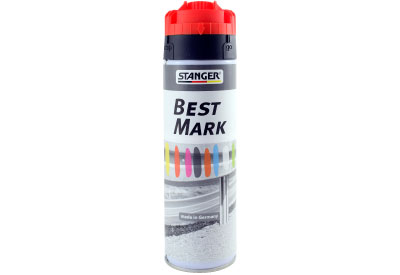 Spuitbus Verfspray Neon Rood 500 ml | Stanger Best Mark