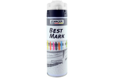 Spuitbus Verfspray Zwart 500 ml | Stanger Best Mark