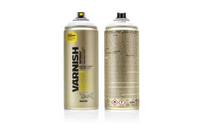Spuitbus Lakspray Glanzend 400 ml | Montana Varnish