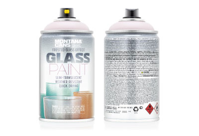 Spuitbus Glasspray Amandel 250 ml | Montana Glass Paint