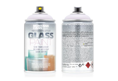Spuitbus Glasspray Matrosé 250 ml | Montana Glass Paint