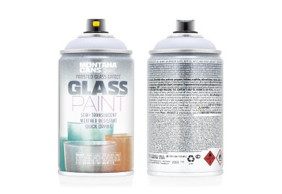 Spuitbus Glasspray Orchidee 250 ml | Montana Glass Paint